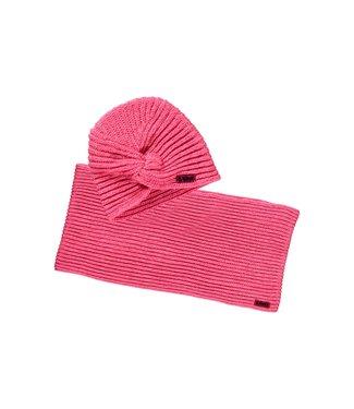 B.Nosy B.Nosy Girls muts en colsjaal shocking pink
