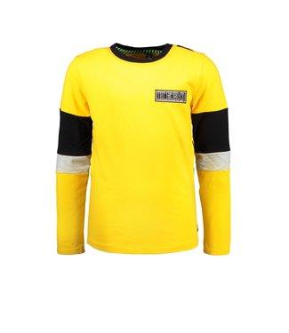 B.Nosy B.Nosy Boys shirt lemon chrome
