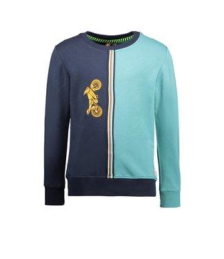 B.Nosy B.Nosy Boys sweater oxford blue
