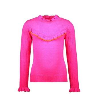 B.Nosy B.Nosy Girls gebreide trui pink glo