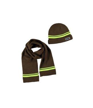 Tygo & Vito Tygo & Vito setje sjaal en muts army x007-6901 365