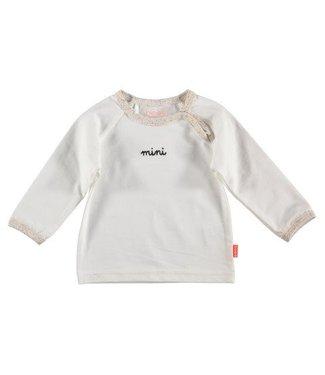 Bess B*E*S*S Unisex shirtje mini white 20260-001
