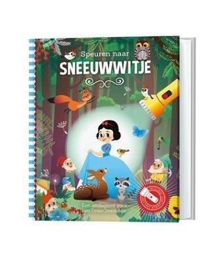 Speurboek Speurboek speuren naar sneeuwwitje