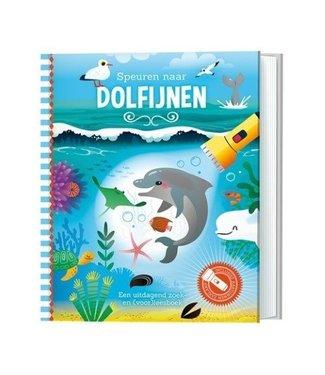 Speurboek Speurboek speuren naar dolfijnen