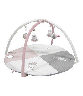 Nijntje Nijntje pink baby rib Speelkleed met boog NIJN623