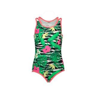 Just Beach Just Beach zwempak zebra