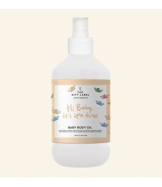 The Little Gift label The Little Gift label Baby body oil Hi baby 250 ml
