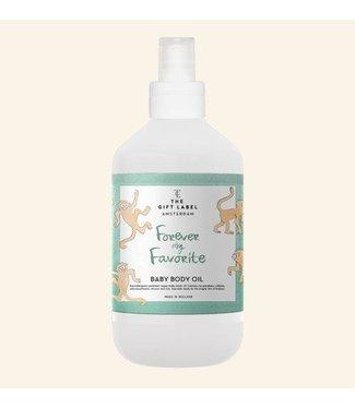 The Little Gift label The Little Gift label Baby body oil forever 250 ml