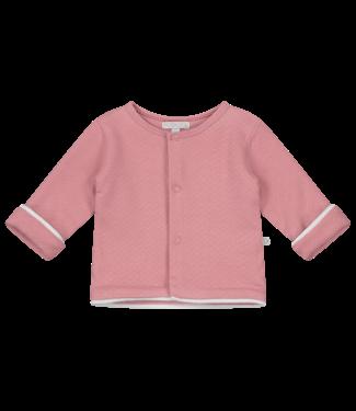 Mats & Merthe Mats&Merthe Cardigan With Bow Old Pink 2019-0003
