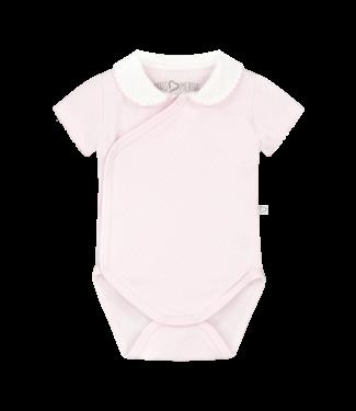 Mats & Merthe Mats&Merthe Body Short Sleeve Pink 2019-0013