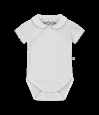 Mats & Merthe Mats&Merthe Body Short Sleeve White 2019-0014