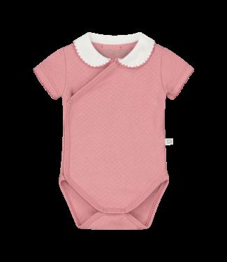 Mats & Merthe Mats&Merthe Body Short Sleeve Old Pink 2019-0015