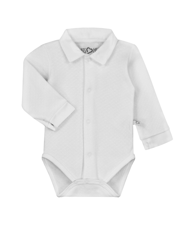 Mats & Merthe Mats&Merthe Body Long Sleeve White 2018-0068