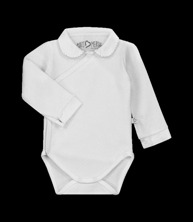 Mats & Merthe Mats&Merthe Body Long Sleeve White 2018-0070