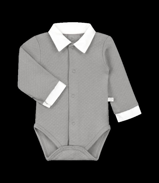 Mats & Merthe Mats&Merthe Body Long Sleeve Grey 2019-0006