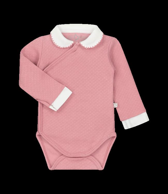 Mats & Merthe Mats&Merthe Body Long Sleeve Old Pink 2019-0007
