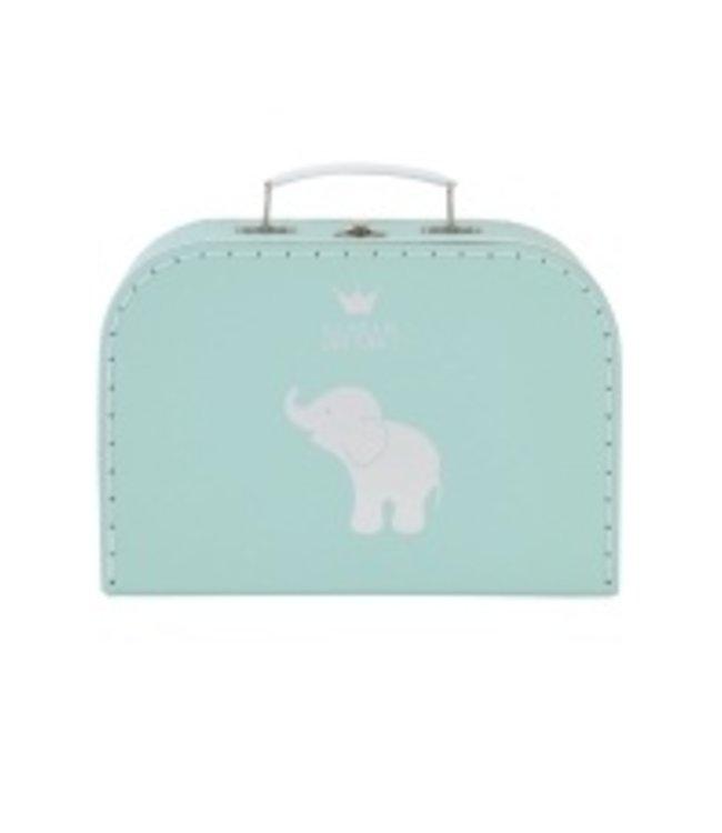 BamBam BamBam suitcase elephant mint