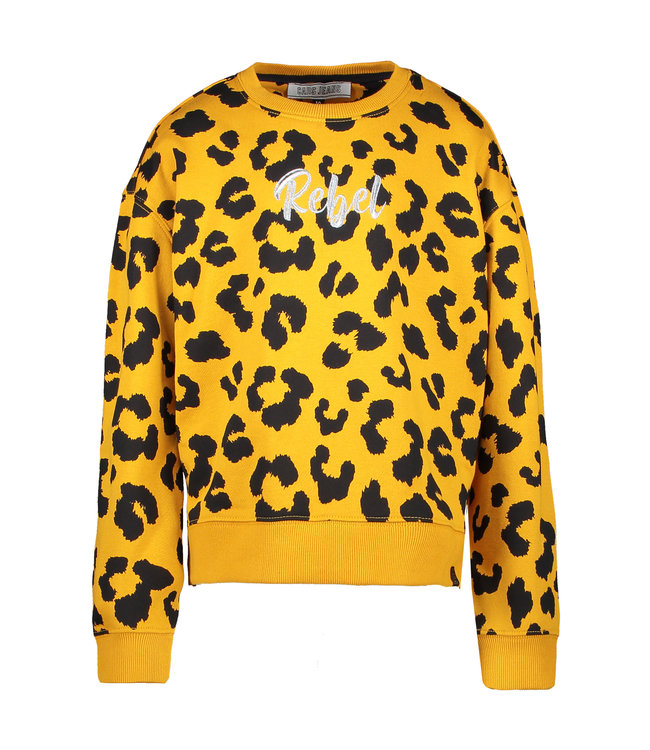 Cars Jeans Cars Jeans Girls sweater Yana ocre