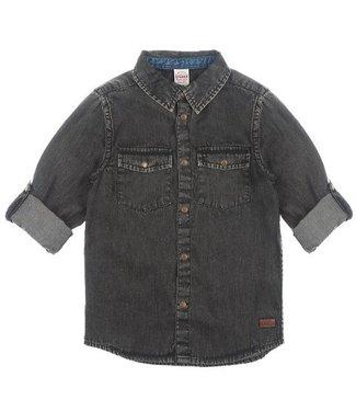 Sturdy Sturdy Winter Denims overhemd black denim