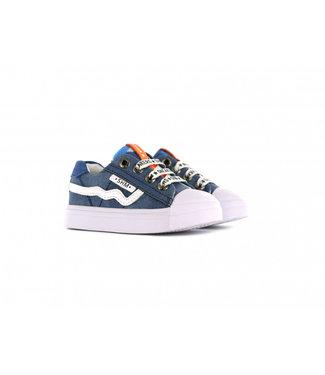 Shoesme Shoesme boys sneaker blue denim