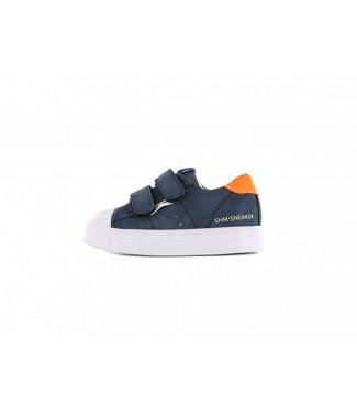 Shoesme Shoesme boys sneaker donkerblauw
