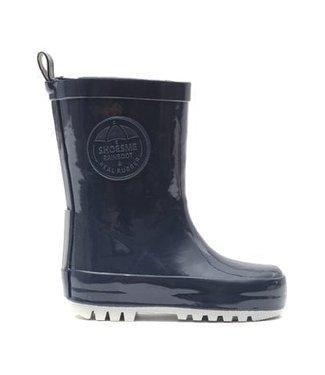 Shoesme Shoesme regenlaarsje donkerblauw met gratis Fleece sock