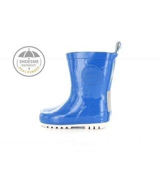 Shoesme Shoesme regenlaarsje Cobalt blauw met gratis Fleece sock