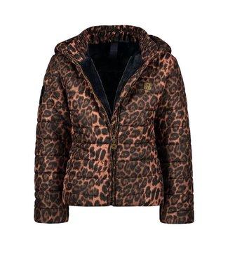 Like Flo Like Flo Girls short Hooded jacket animal