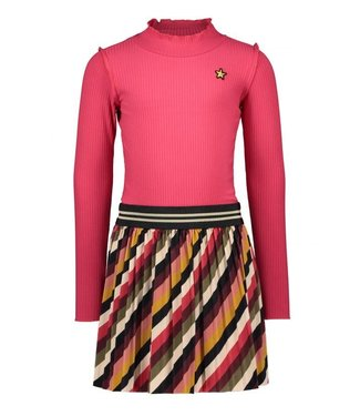 Like Flo Like Flo Girls dress turtle stripe