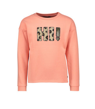 Like Flo Like Flo Girls sweater divers old pink