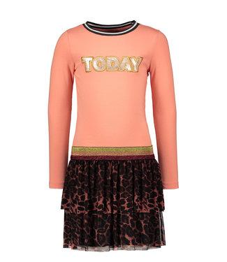 Like Flo Like Flo Girls dress old pink