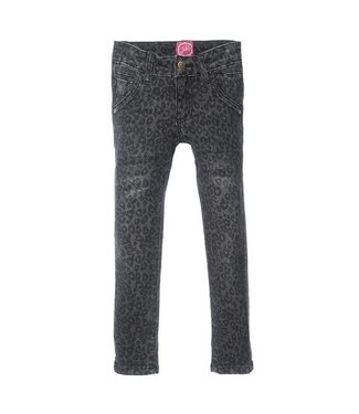 Jubel Jubel Winter Denims slim fit AOP antraciet denim