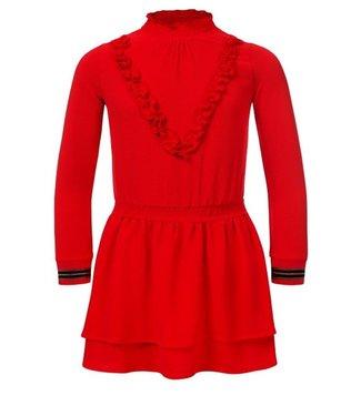 LOOXS Looxs Girls jurkje rood