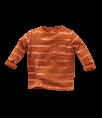 Z8 Z8 Newborn Speedwell - Pecan pie/Baked biscuit shirtje