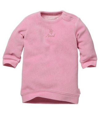 Quapi Quapi Newborn Meisjes Zahra jurkje pink velvet