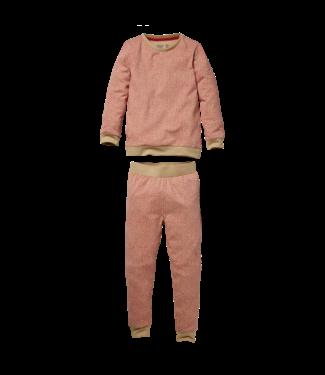 Quapi Quapi Pyjama Puck AOP pink animal