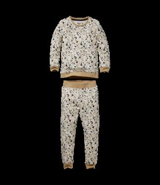 Quapi Quapi Pyjama Puck AOP off white splash