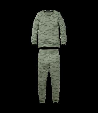 Quapi Quapi Pyjama Puck AOP green