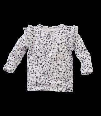 Z8 Z8 Newborn Mockingbird - Coconut milk/AOP shirtje