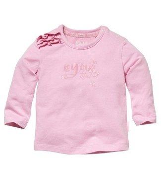 Quapi Quapi Newborn Meisjes Zehra longsleeve candy pink
