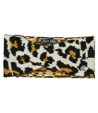 Quapi Quapi Girls hoofdband Dylena beige leopard