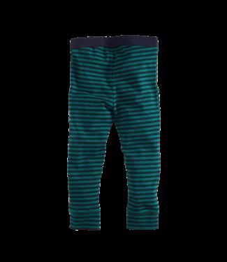 Z8 Z8 LE Nanneke legging groen/blauw gestreept