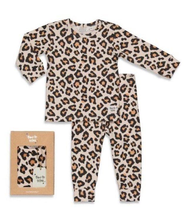Feetje Feetje premium sleepwear pyjama Leopard Lou 505.00045
