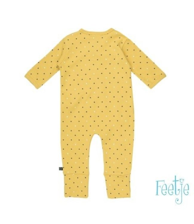 Feetje Feetje Stars pakje met omslagvoet geel 507.00121