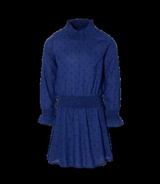 Quapi Quapi Girls jurk Dalina marine blue retro