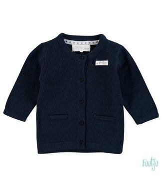 Feetje Feetje NOS Classic vestje first knit marine 513.00174 010
