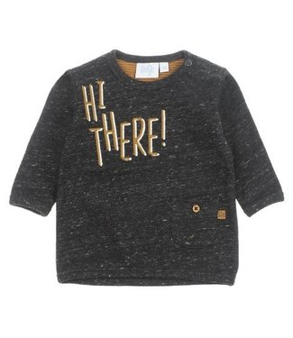 Feetje Feetje Hi There sweater antraciet melange 516.01568