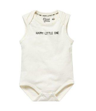 Quapi Quapi Newborn Uni Zia romper off white