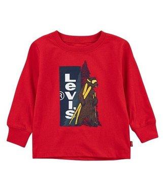 Levi's Levi's baby boy longsleeve red c204 r6w