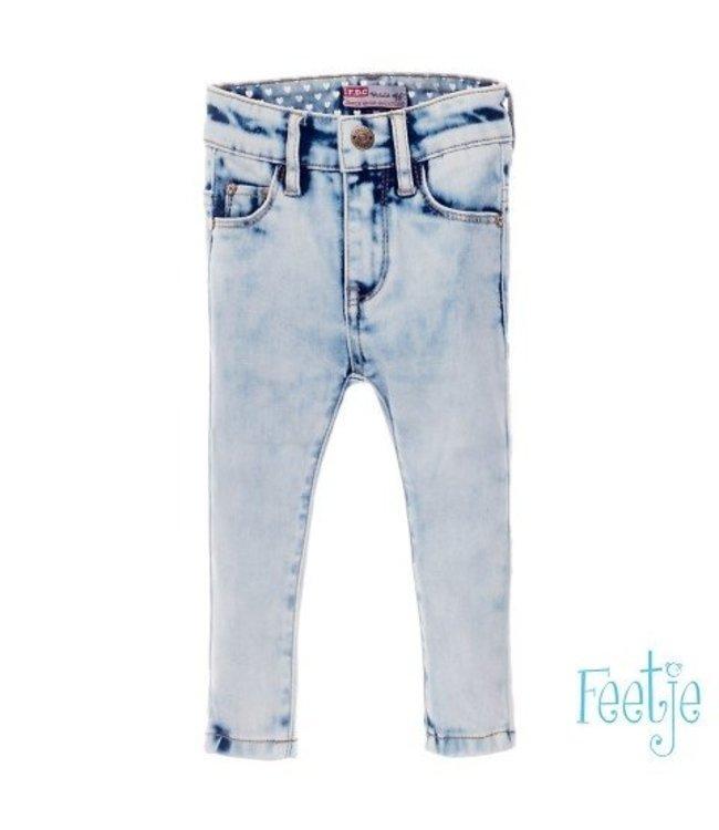 Feetje Feetje NOS girls light blue denim slim fit 522.01275